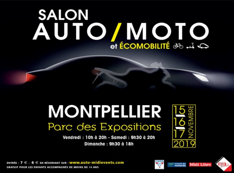 SALON DE L'AUTO MONTPELLIER 2019
