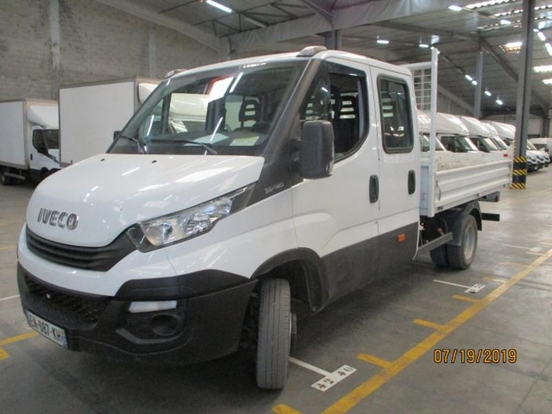 Iveco Daily CCb 35C14 D Empattement 3750 Tor Diesel Blanc Occasion à vendre